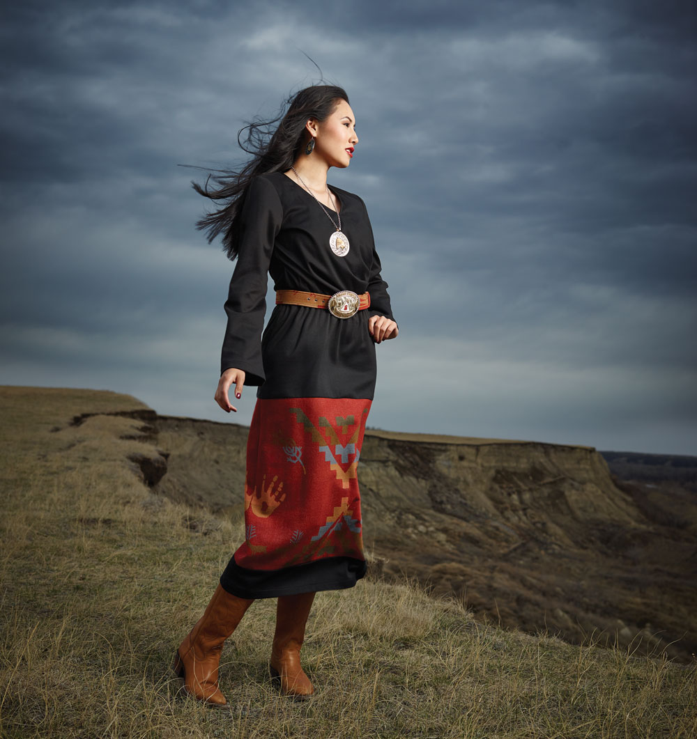 Calgary Stampede Indian Princess Carly Weasel Child