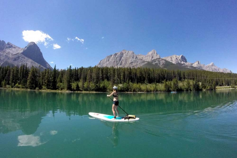 Try Stand Up Paddleboarding In Canmore Avenue Calgary