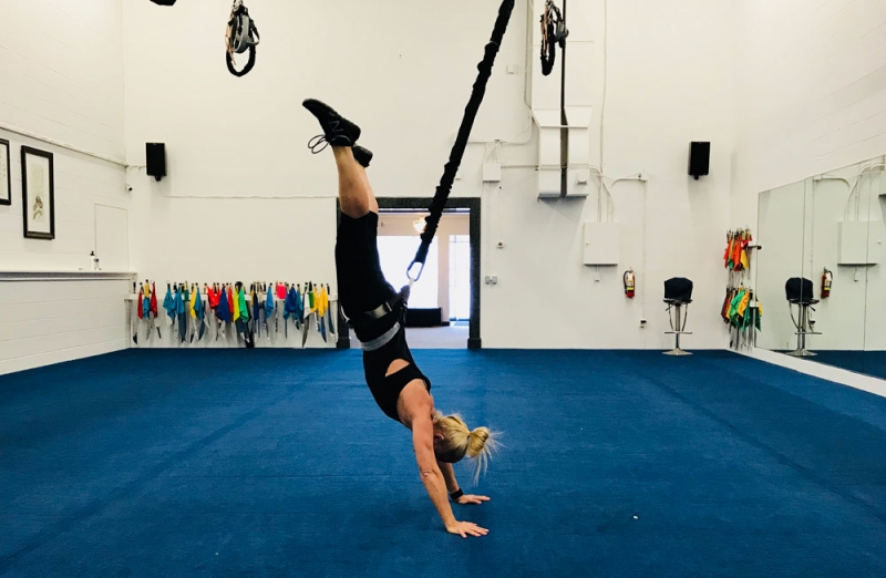 Calgary S First Bungee Workout Facility Is Open In The