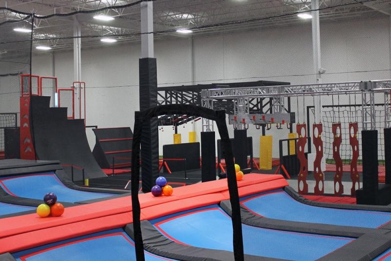 Inside Fun And Fitness Centre Injanation Avenue Calgary