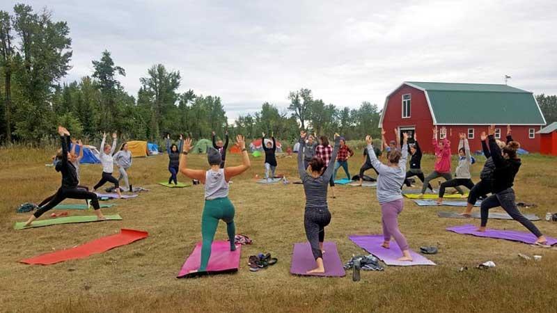 Where To Take Outdoor Yoga In Calgary Avenue Calgary