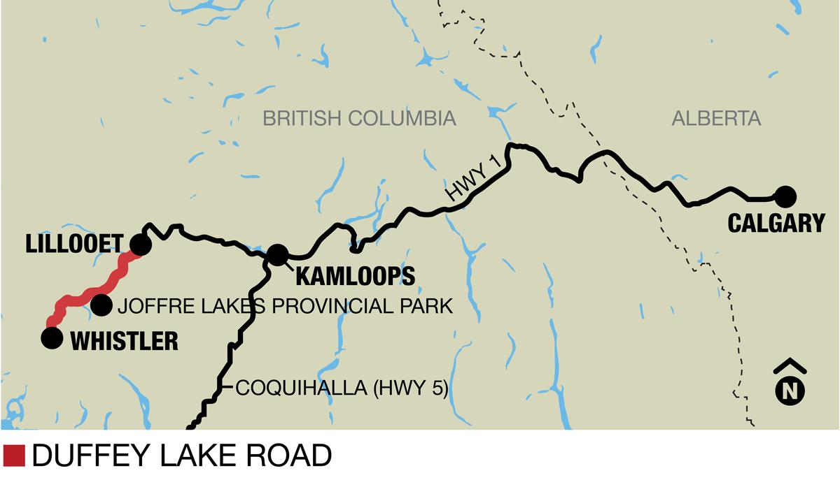 duffy lake road map Great Summer Drive Lillooet To Whistler On Duffey Lake Road duffy lake road map