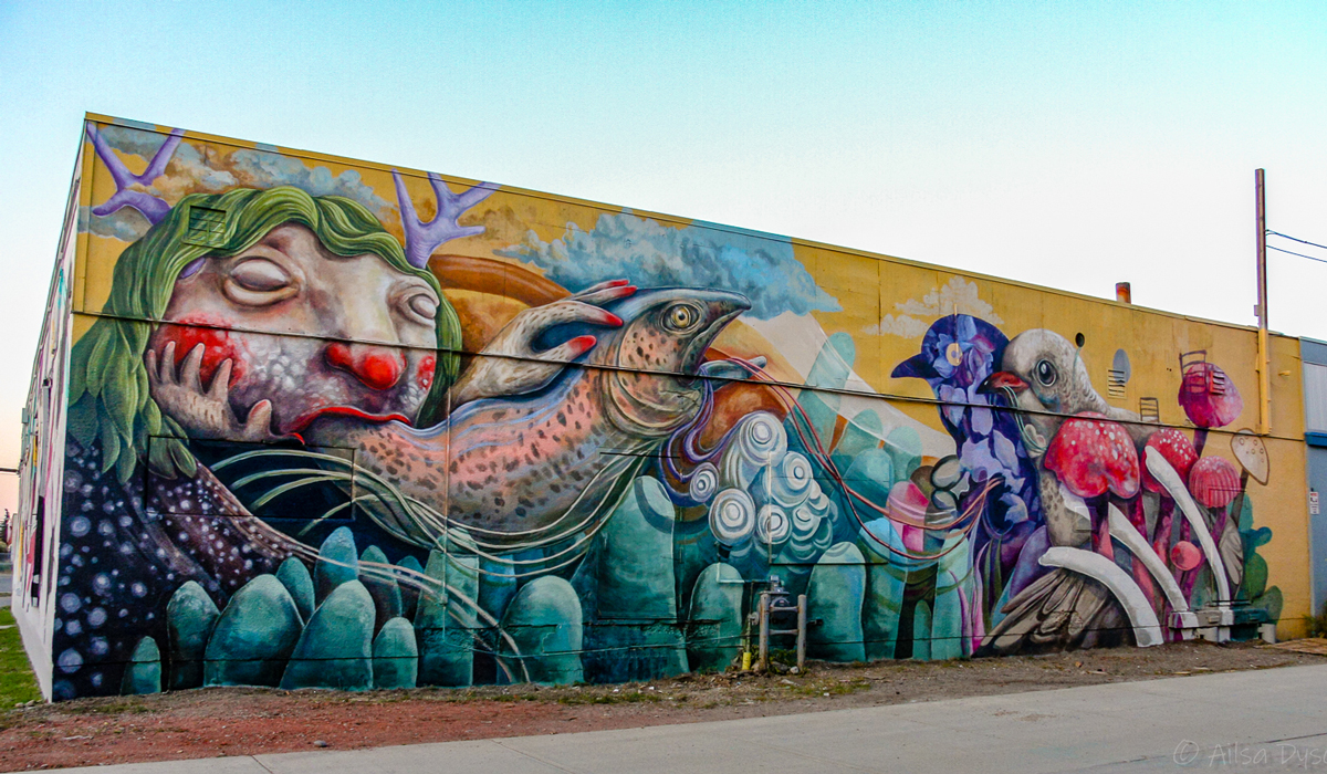 Your Ultimate Guide To The Bump Murals Avenue Calgary