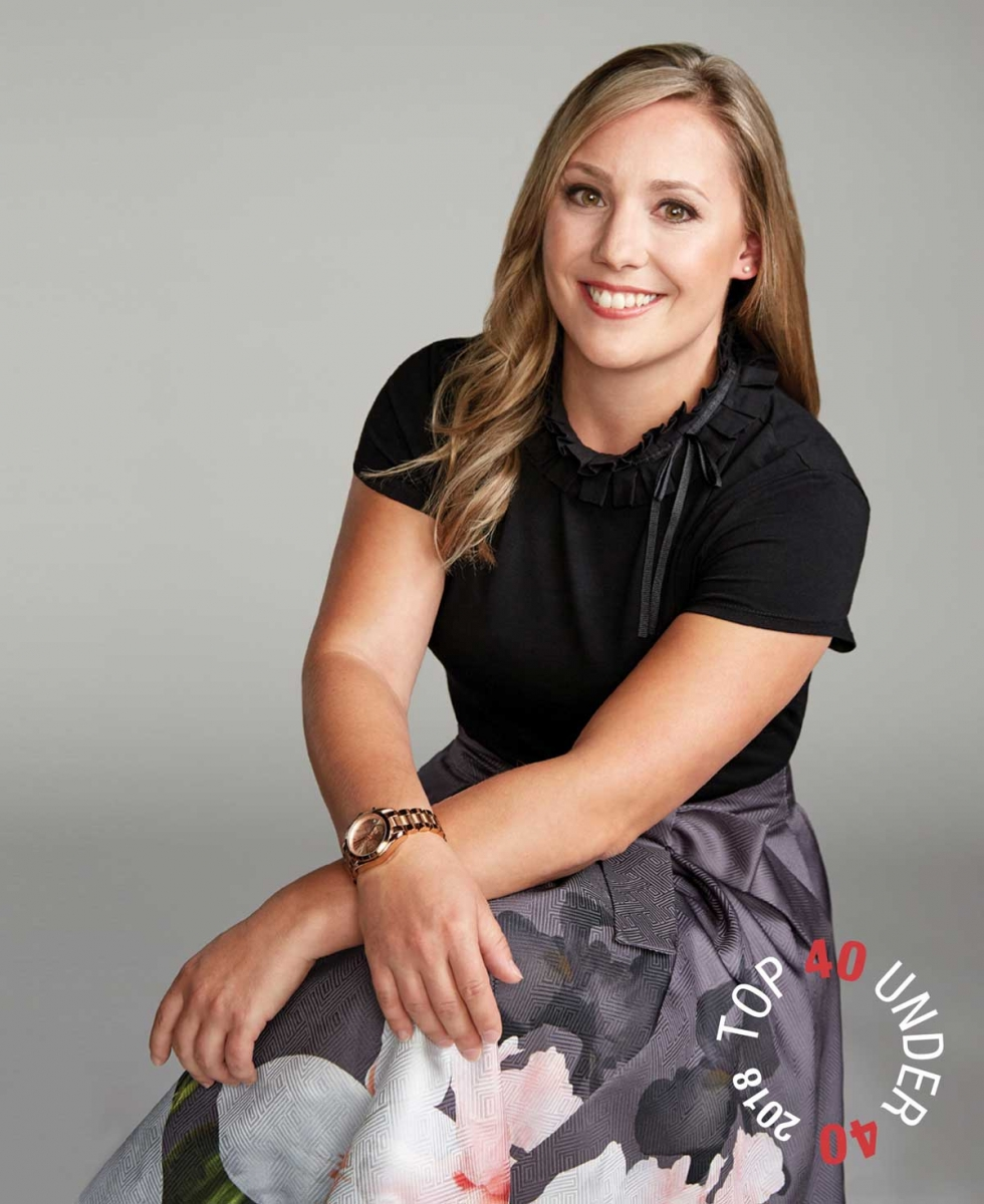 Dr Prism Schneider Top 40 Under 40 2018 Avenue Calgary