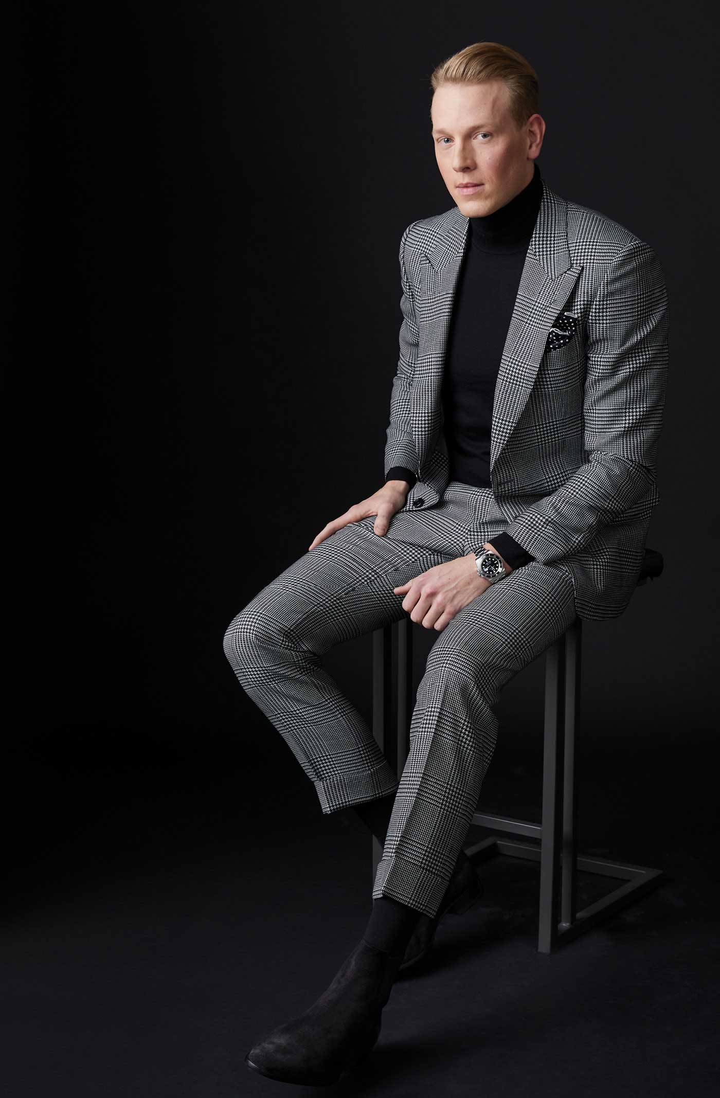 Sean Clancy Is A Fashion Industry Insider Who Has Developed His Own Understated Look Avenue Calgary