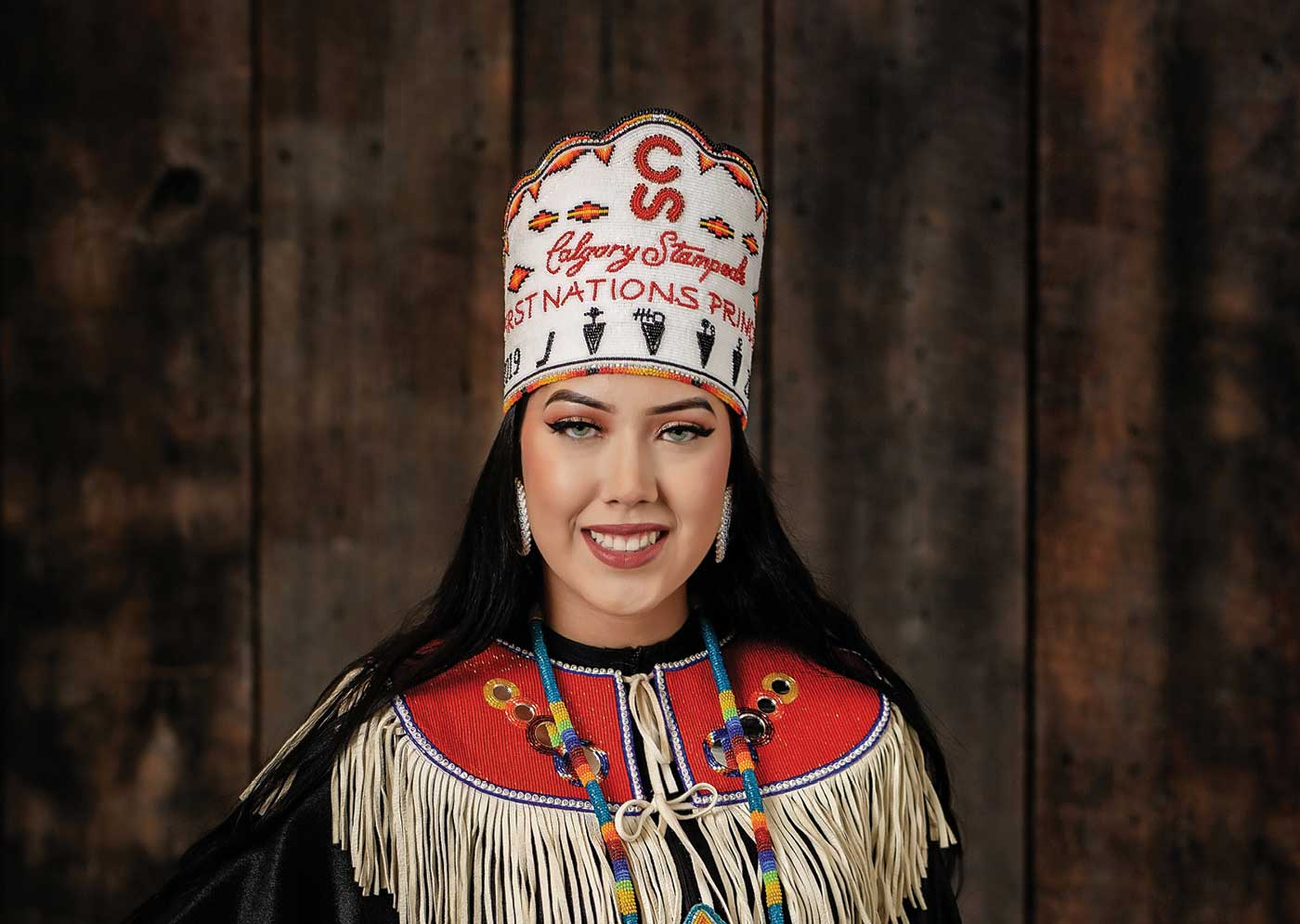 Meet Astokomii Smith The Stampede S First First Nations