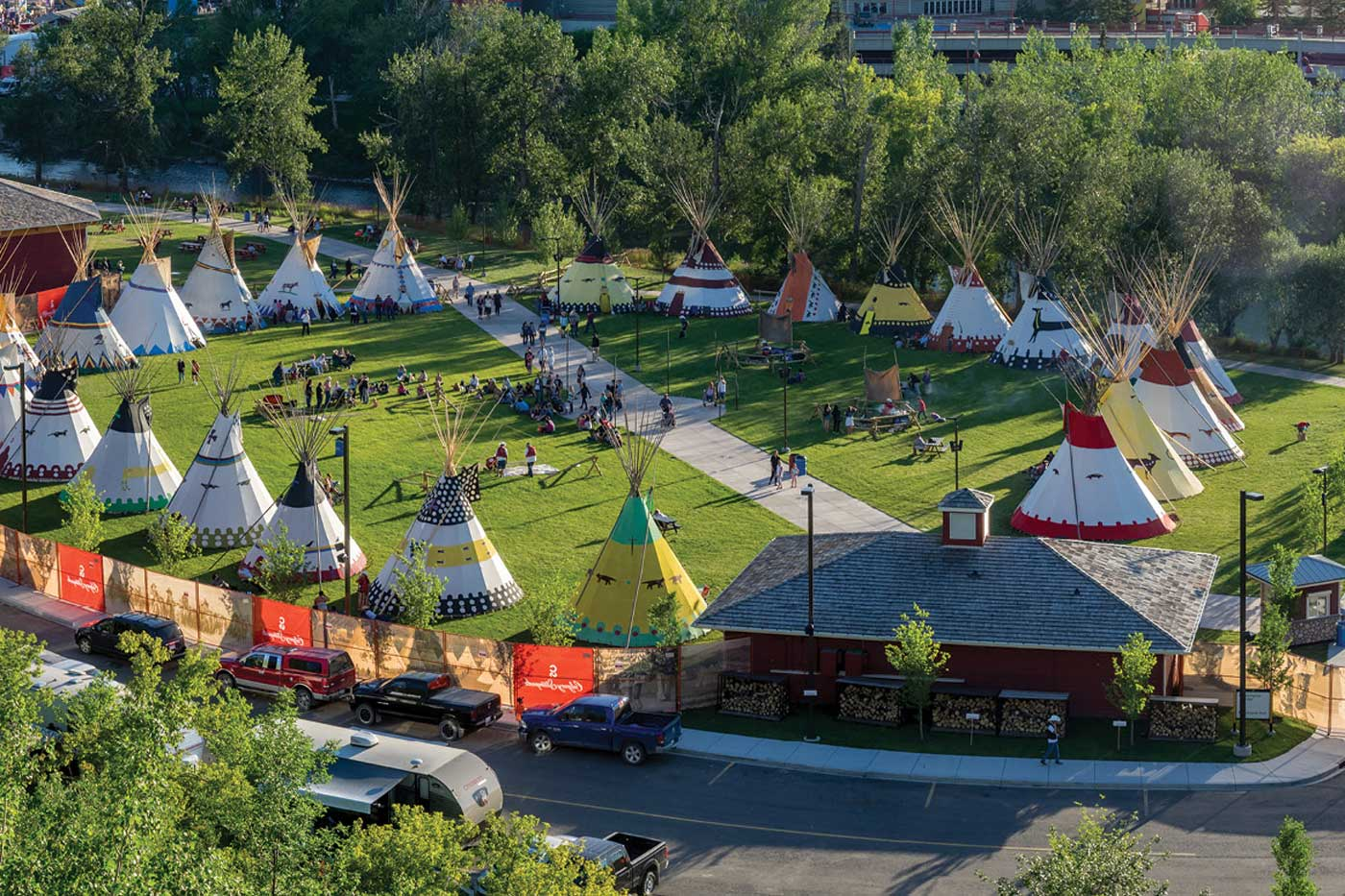 The Story Behind Elbow River Camp Avenue Calgary