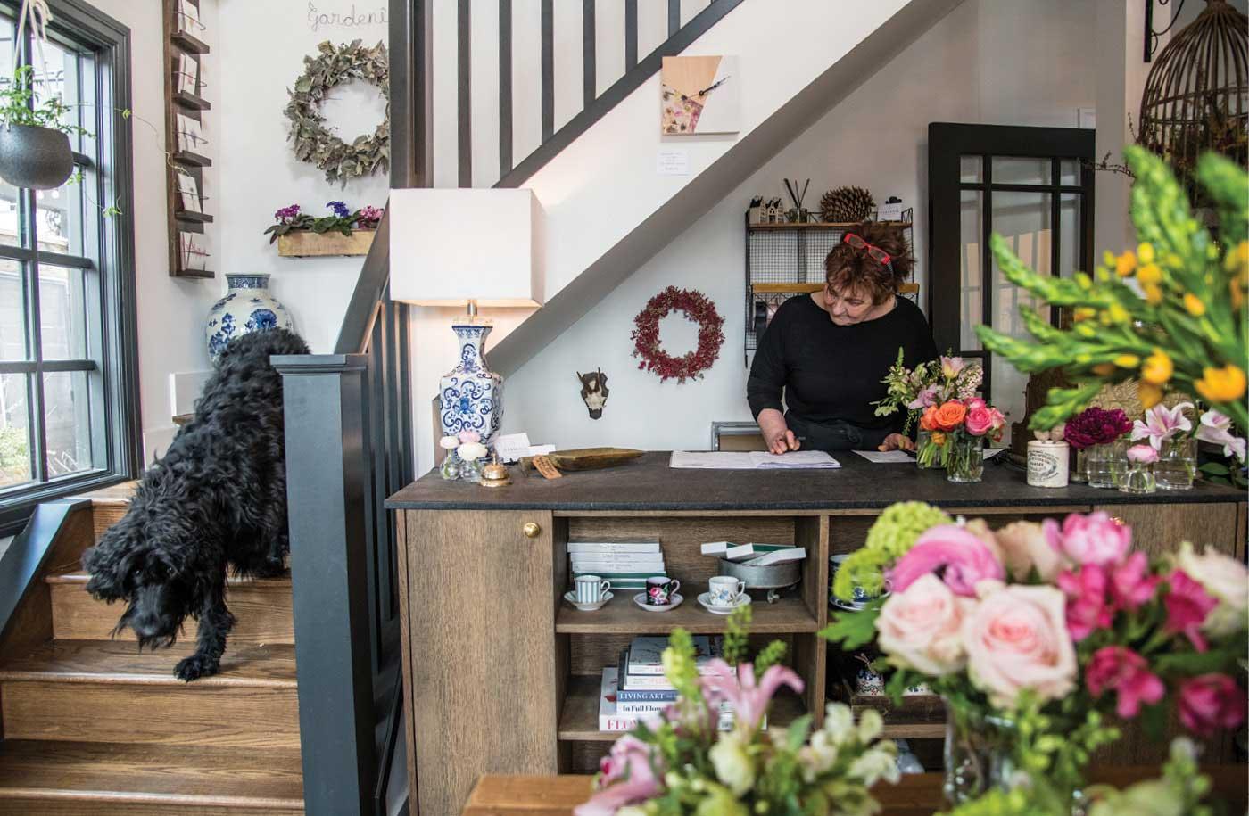 Inside Gardenia Flower Boutique S Live Work Space In Marda