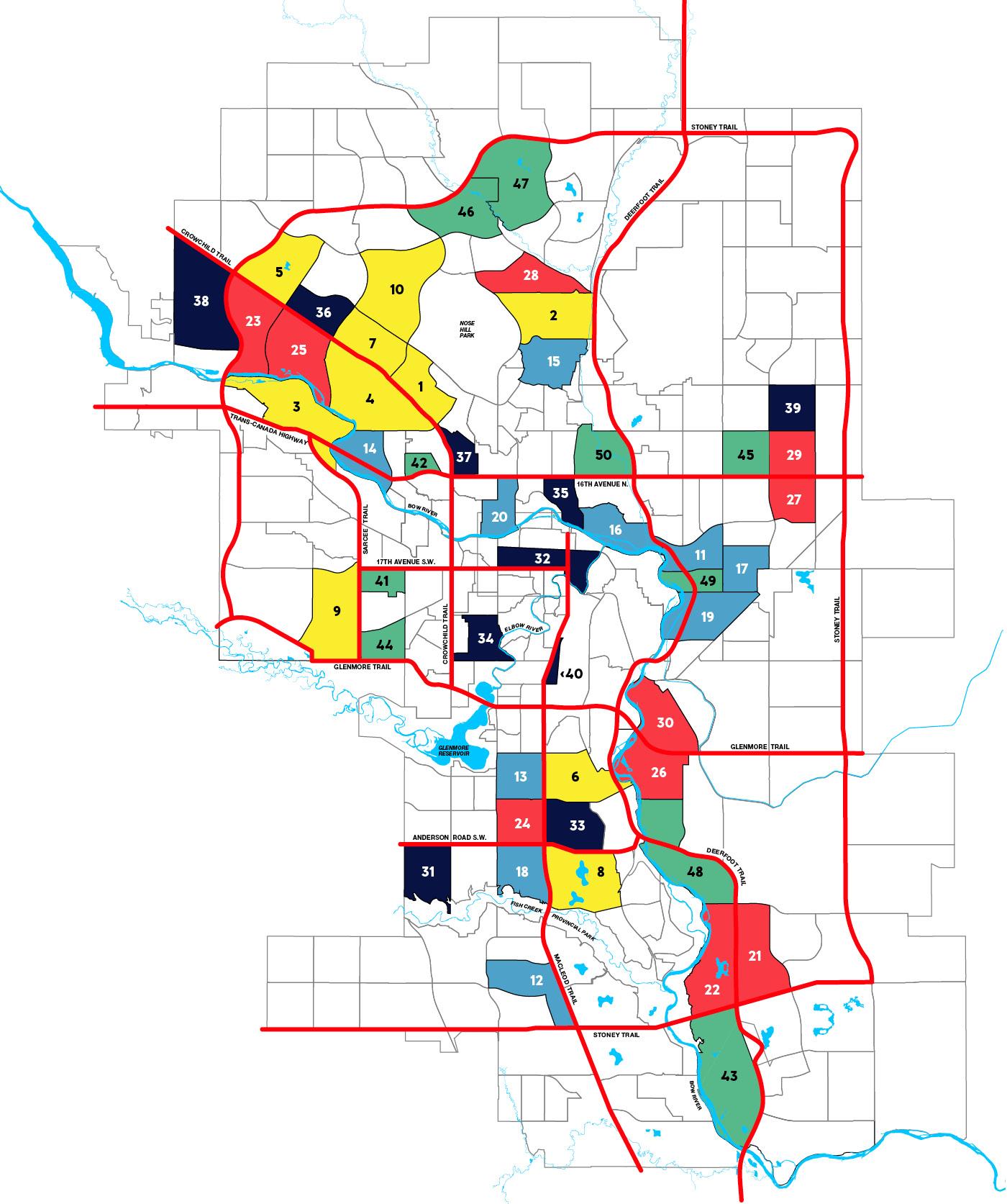Calgary's Best Neighbourhoods 2019: The Full List and Map ... on flag list, print list, queue list, shop list, food list, mexico states and capitals list, city list, faq list,