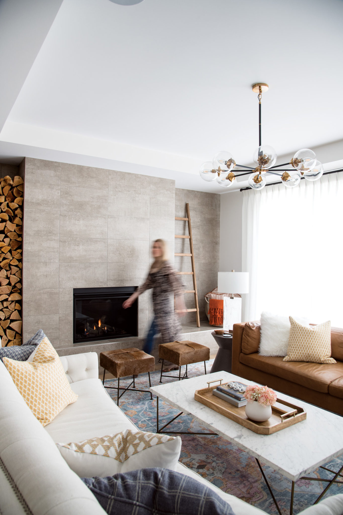 Inside Katie And Andre Riouxs Modern Farmhouse Avenue Calgary