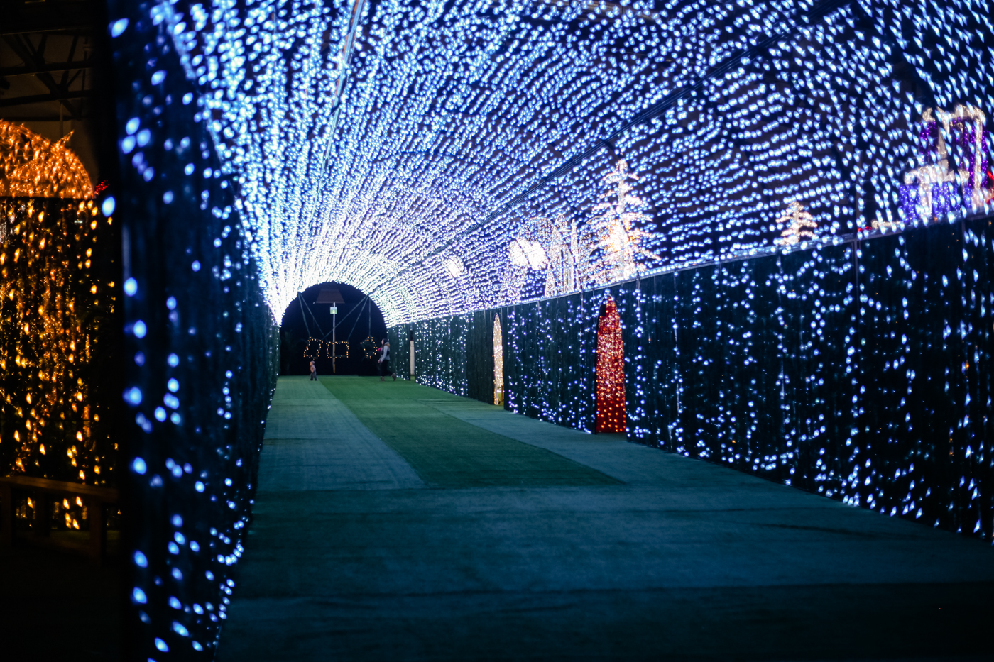 What To Expect At The No 235 L Indoor Christmas Light Park