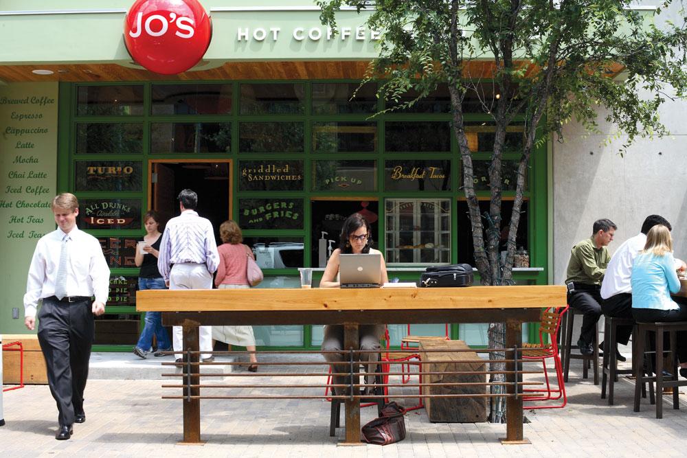 Jo's Coffee.