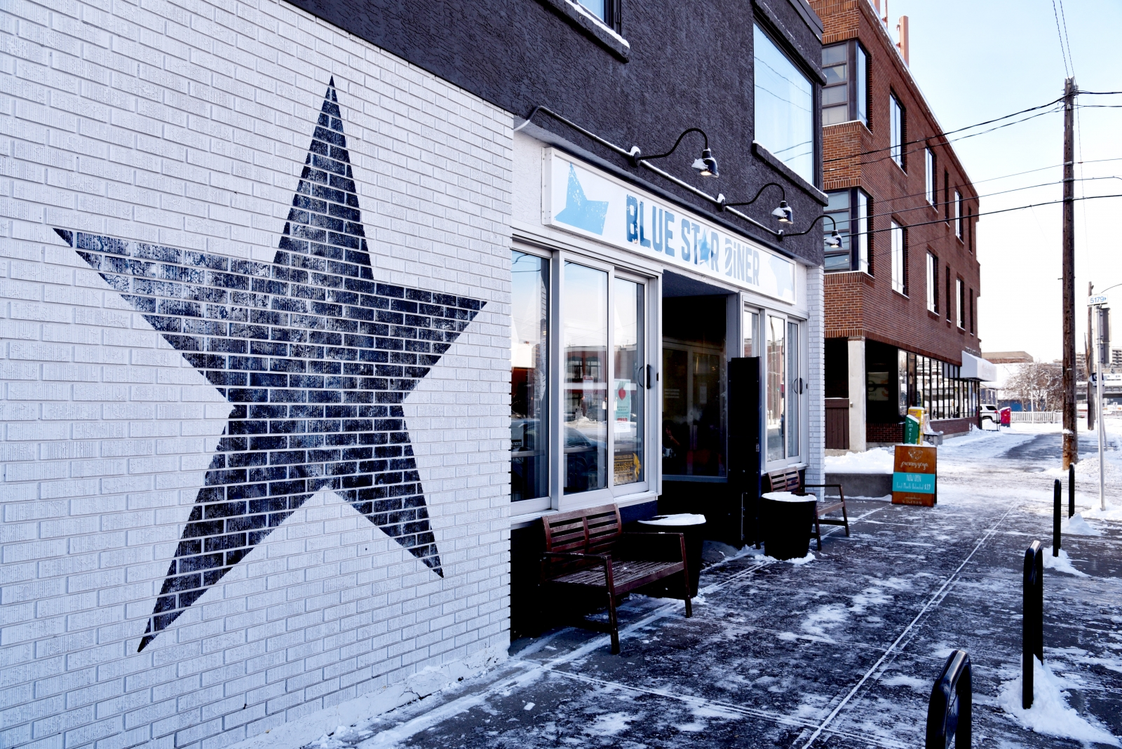 Blue Star Diner is one of the city's favourite places for brunch.