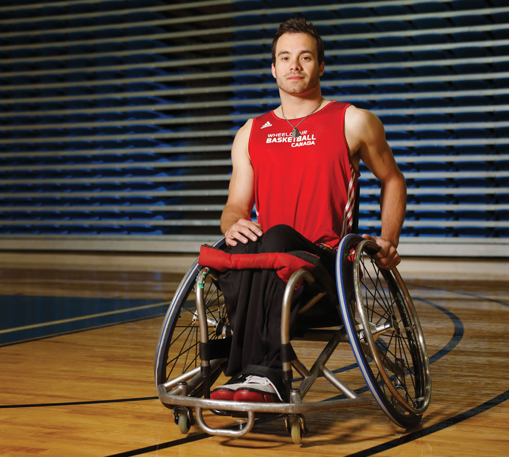 Calgarian Chad Jassman is on the men's wheelchair basketball team competing at the Parapan Am Games.
