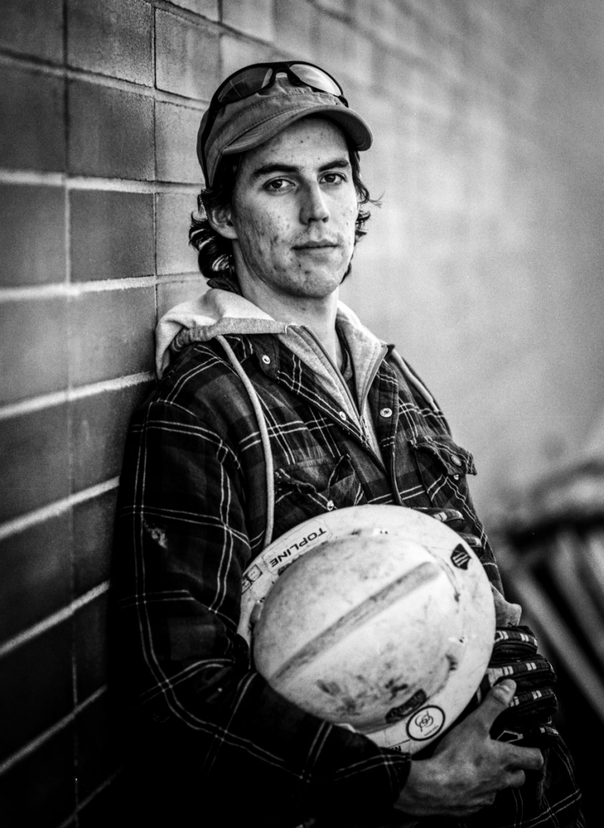 Portrait from Laid Off Alberta, a photographic series by Mike Heywood.