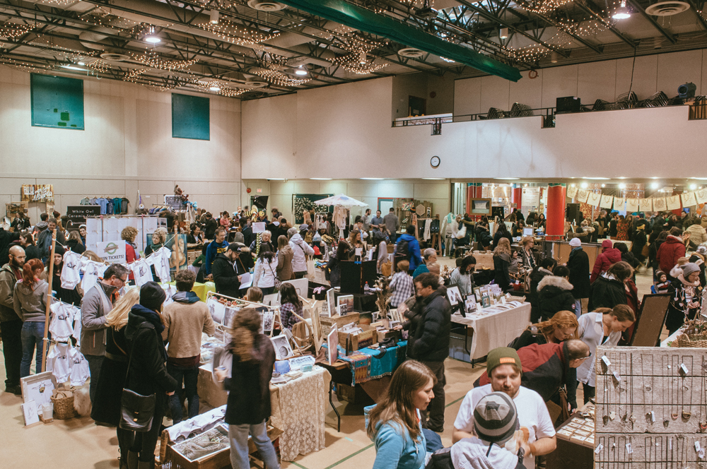 Market Collective welcomes artists and vendors to sell their goods several times throughout the year.