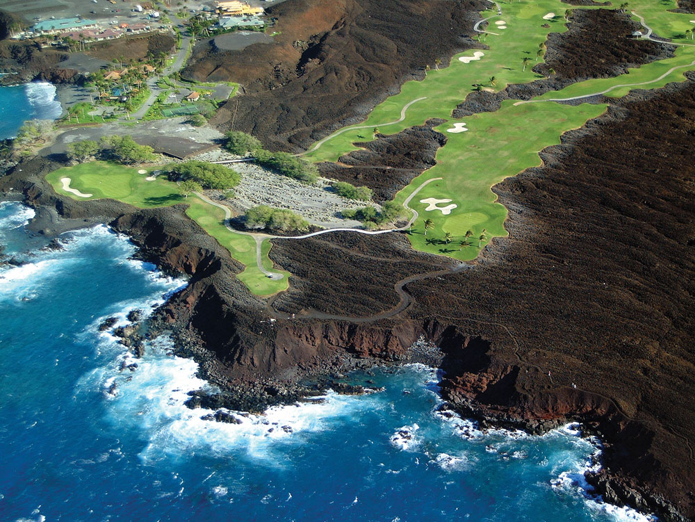Hualalai Golf Course.