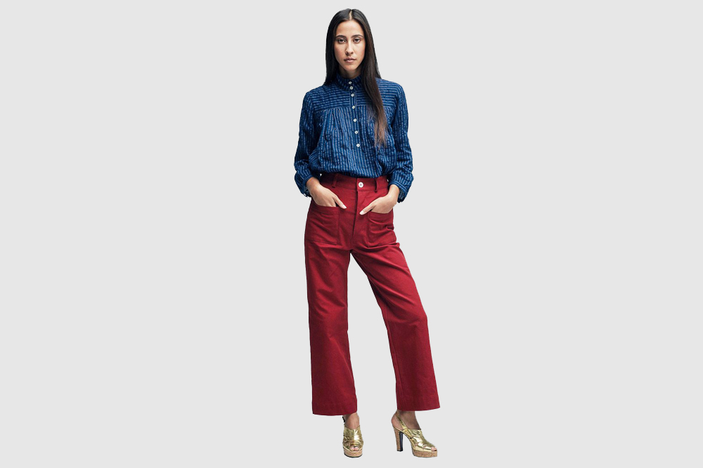 Horses Atelier high-waisted trouser, 35, from Leo Boutique.