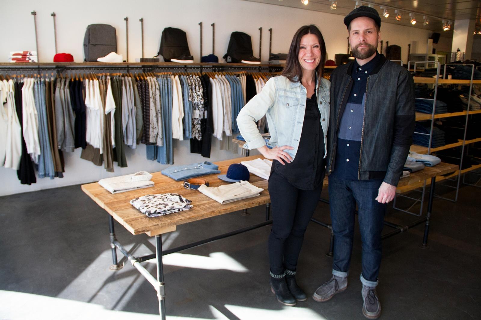 Leo Boutique co-founders, Cornelia and Jon Wiebe.