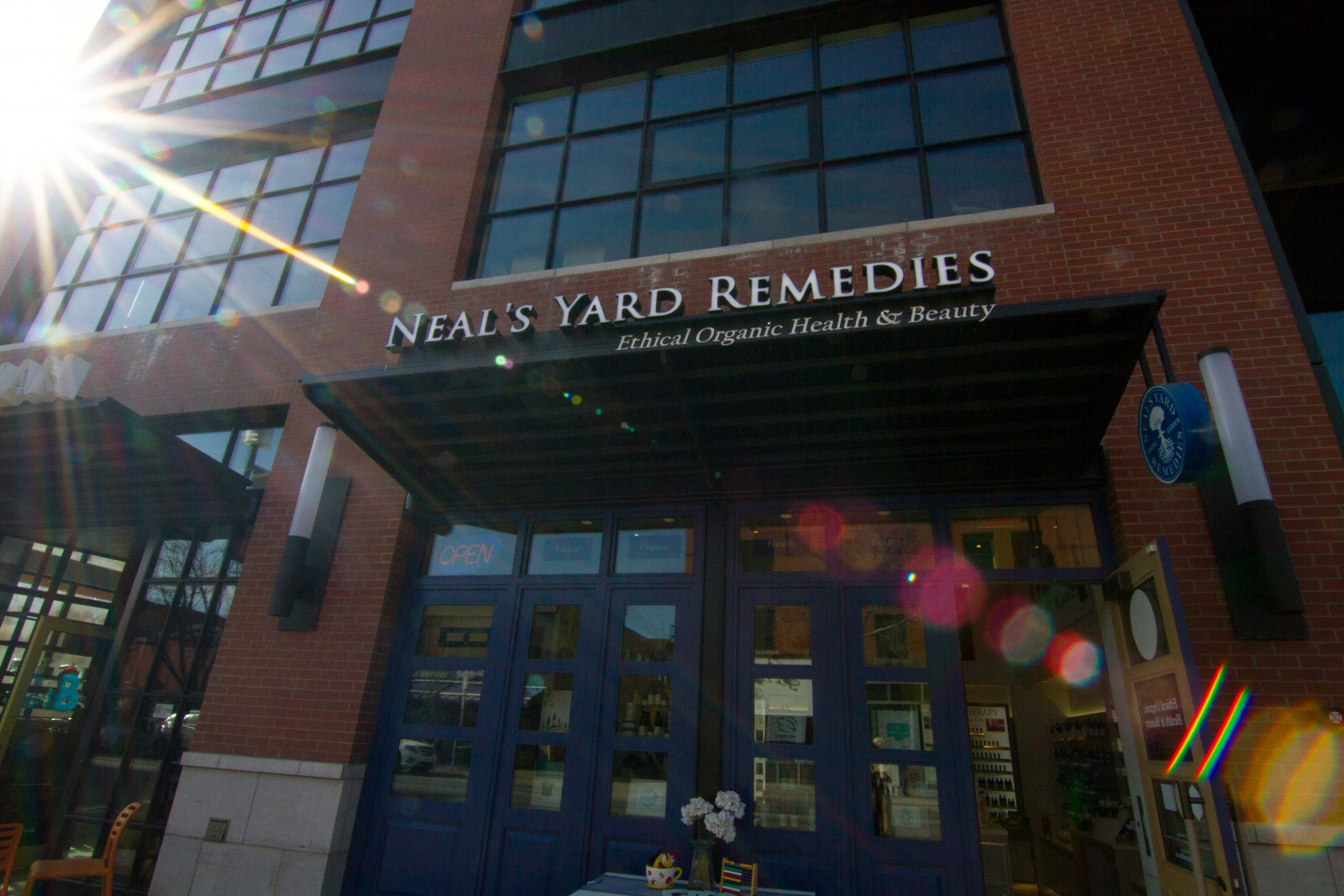 Neil's Yard Remedies' Mission location was its first in Calgary. The company plans to open 10 more stores in Canada within five years.