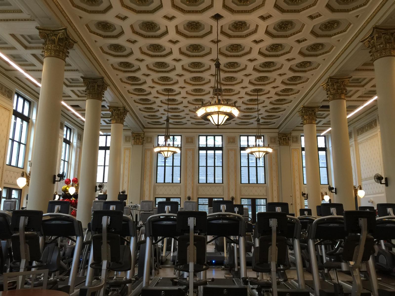 Inside the new goodlife fitness avenue calgary