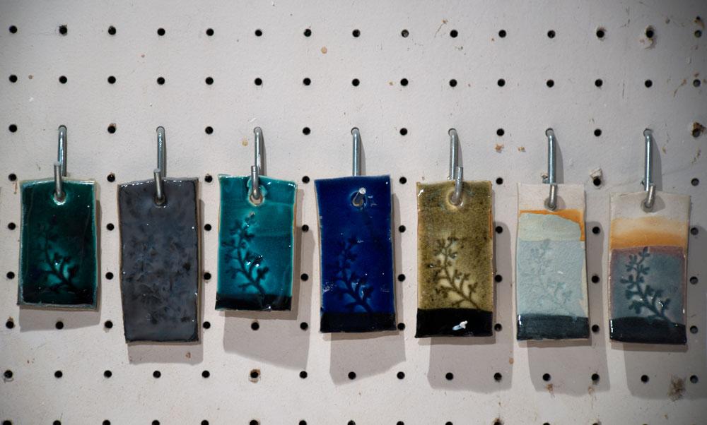 Laura Sharp glaze samples