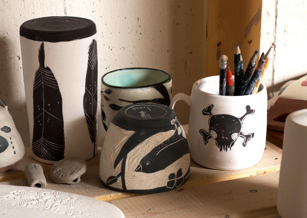 Laura Sharp Studio Detail