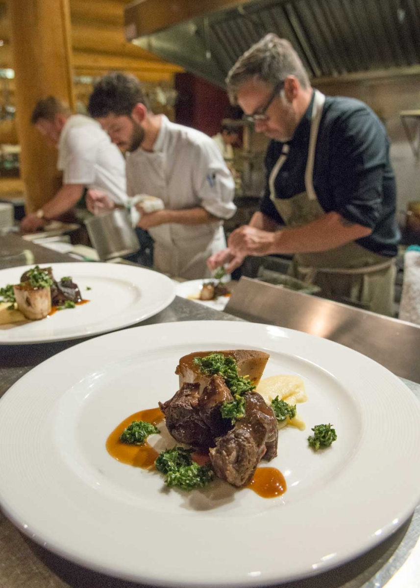 Chef Justin Leboe was one of the guest chefs at last year's Untamed Kootenays food festival.