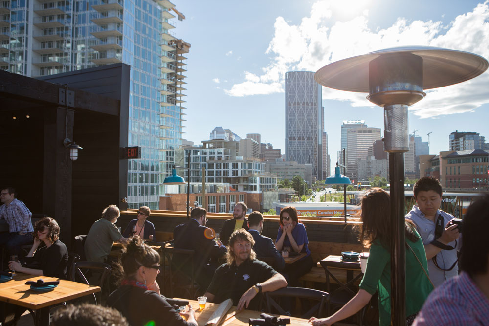 Best Patios For Large Format Drinks Avenue Calgary