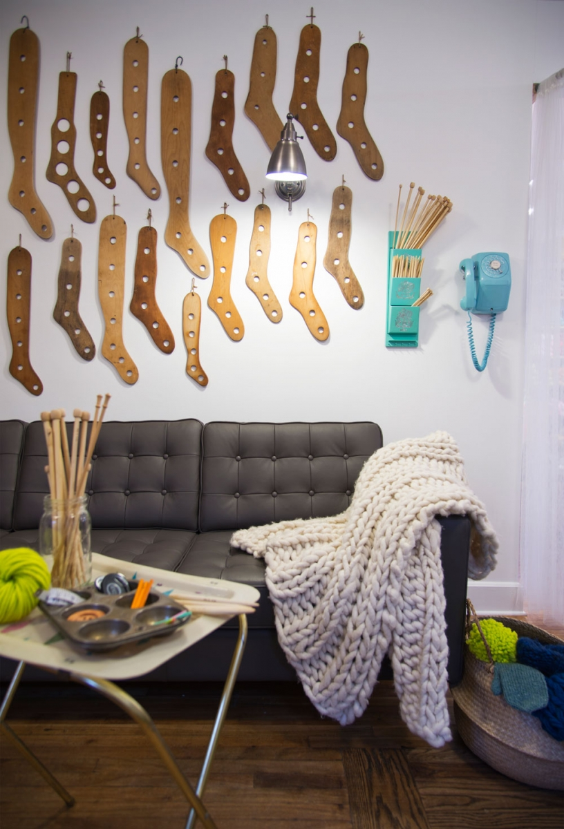 Learn all sorts of yarn skills at Stash Needle Art Lounge.