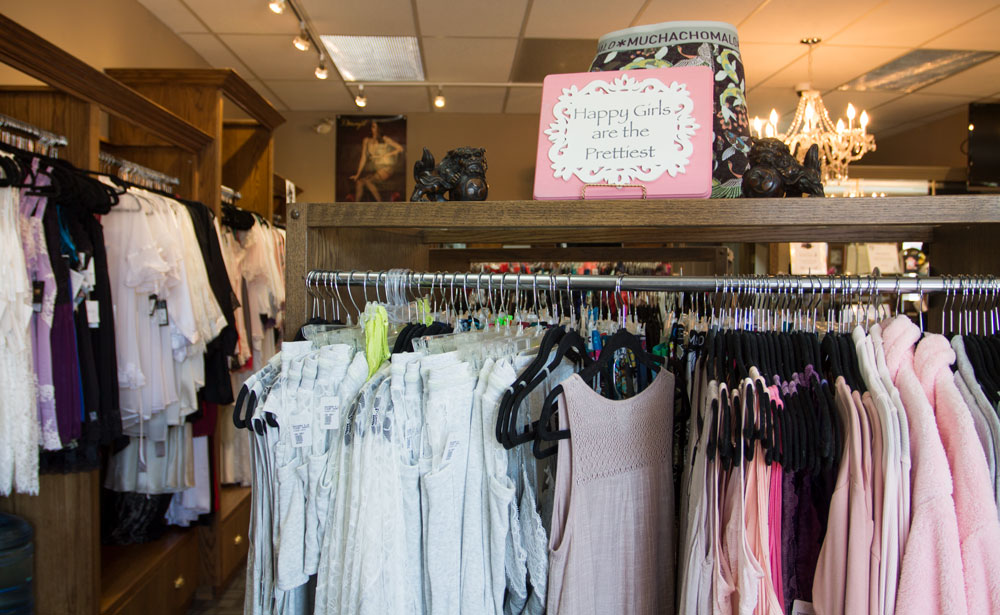Knickers 'n Lace has been in Willow Park Village since 1993.