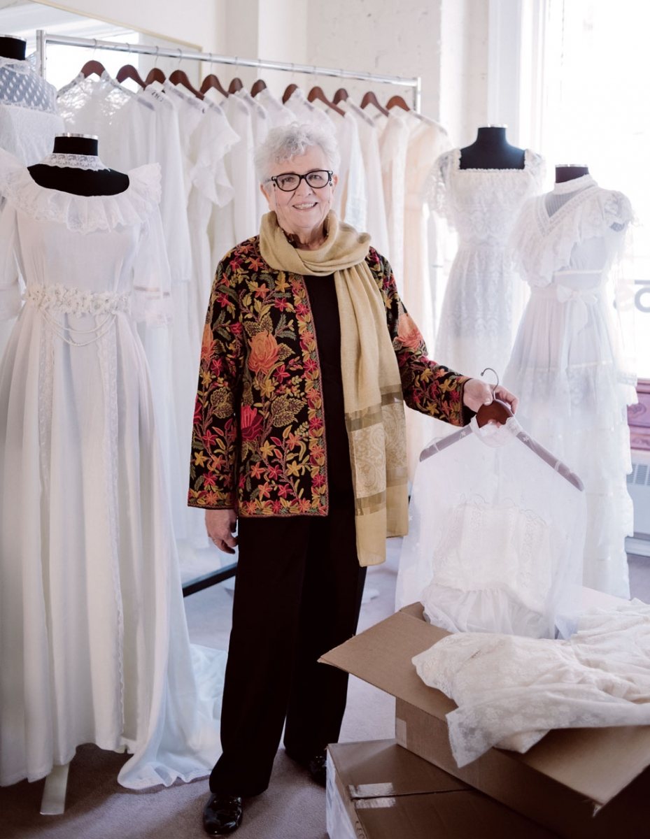 Haya Stein in Ethos Bridal Group.