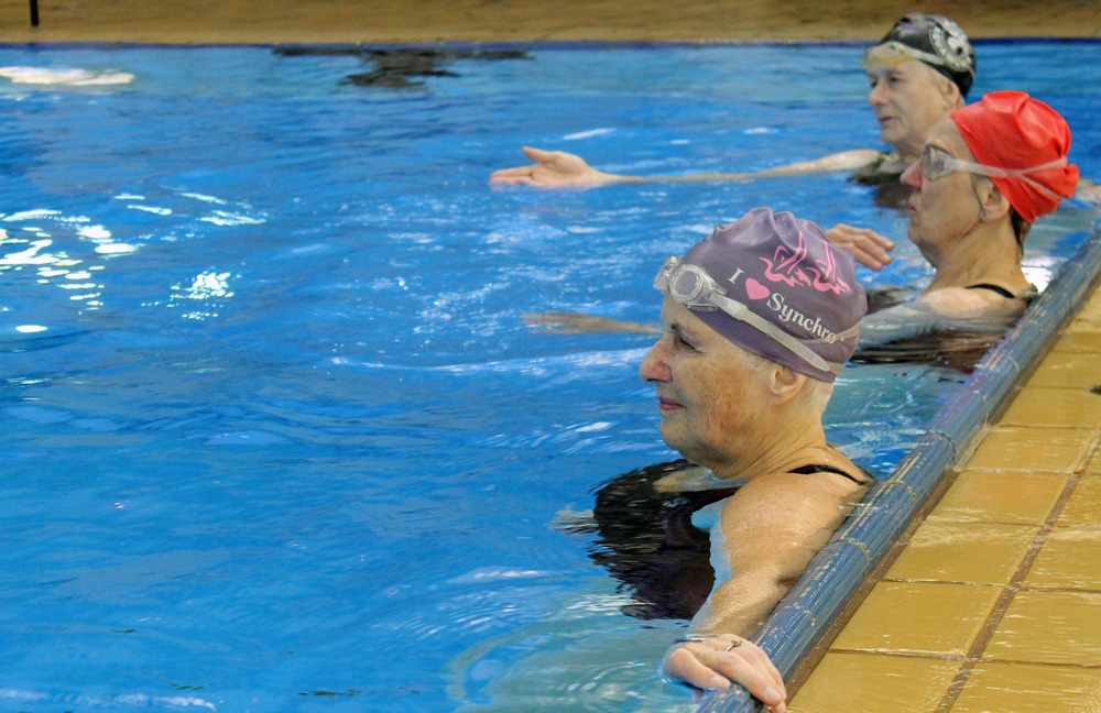 This World Champion Calgary-Based Synchronized Swimming Team is Made Up of  (Mostly) Seniors   Avenue Calgary